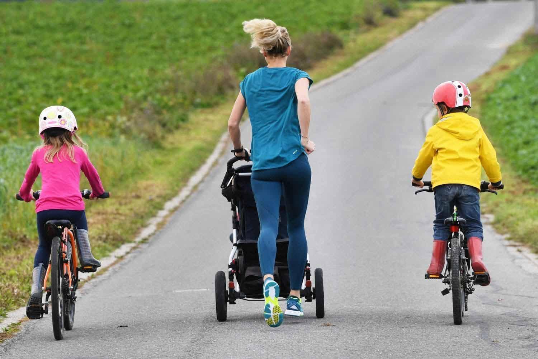 Mama macht jetzt Sport - ob mit Kinderwagen oder ohne - ob mit Kindern oder ohne. Hauptsache Mama kann sich bewegen.