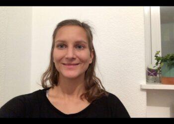 Erfahrungsbericht von Lena als Video über das Programm Sport in der Schwangerschaft.