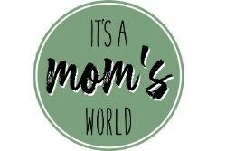 logo von It's a mom's world der schweizer Podcast für Schweizer Mütter.