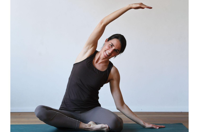 Pilates in der Rückbildung - starke Mitte