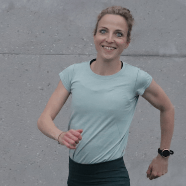 Stefanie Meyer ist eine der Gründerinnen von rund8fit und selbst passionierte Läuferin.