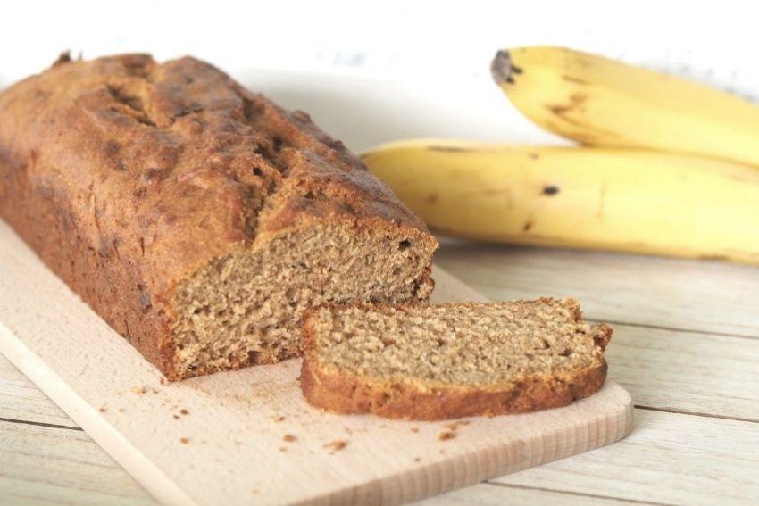 Bananenbrot ist gesund und lecker.