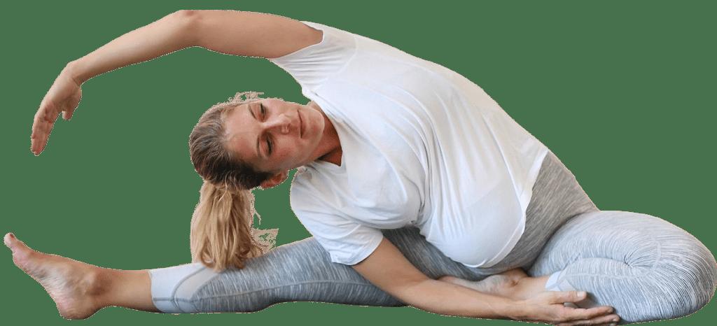 Trainingsprogramme - Online Training - Sport in der Schwangerschaft: Schwangere trainiert sicher und trotzdem fordernd von Zuhause aus.